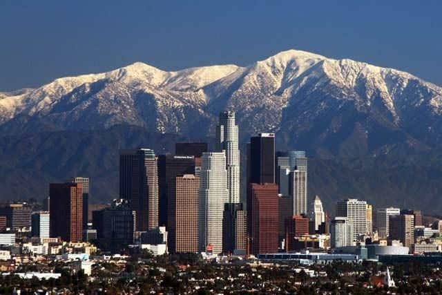 Present Water Condition In Los Angeles Los Angeles Skyline Los Angeles Vacation Cool Places To Visit