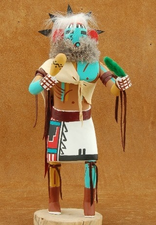 #Handmade #Navajo Native American Morning Singer Kachina Doll by The Yazzie Family $111.00 #Alltribes