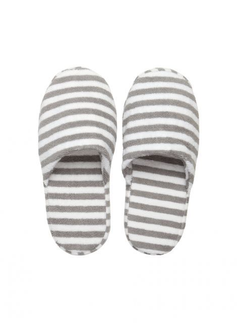 Ujo slippers (white, grey) | Décor, Bathroom, Robes & Slippers | Marimekko