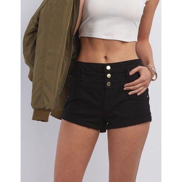 25  best ideas about Black jean shorts on Pinterest | Levi shorts ...