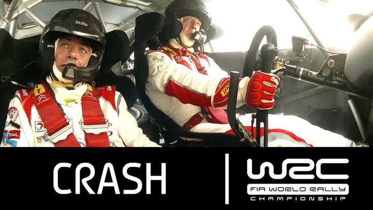 WRC - Coates Hire Rally Australia 2013 : CRASH Kris Meeke