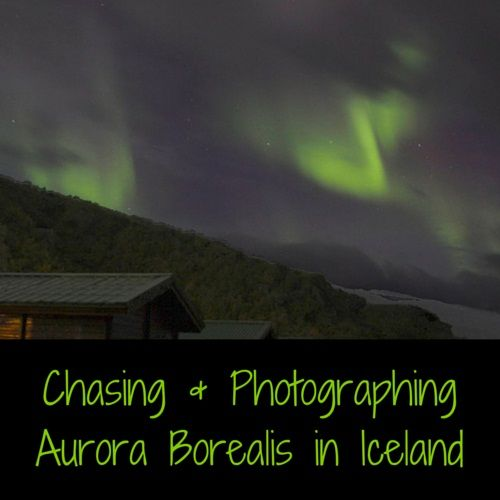 Travel Guide Iceland: how to chase and photograph aurora borealis (northern lights) in Iceland: forecast, weather, settings, material, location...