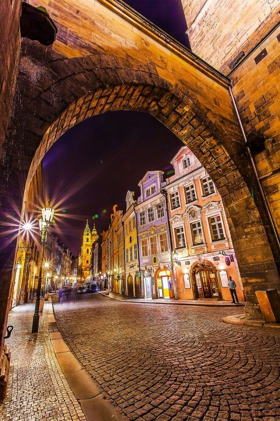 Prague is a European jewel at any time of day but the night and especially the blue hour reveals it's true character. The long-exposure night style photography shows thousands of golden city lights emphasizing the stone bridges and towers in contrast with the deep blue sky. They built a huge stone bridge even before Christopher Columbus and that bridge is still here today, see the pictures below: PinterestFacebookTwitterGoogle+tumblr: