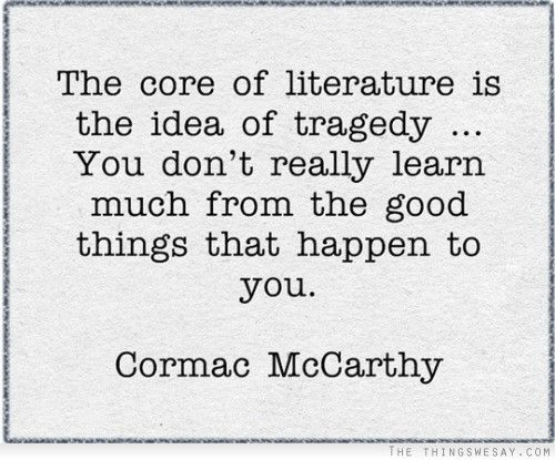 I'm doing Cormac McCarthy for term paper. I need help with a thesis statement.?