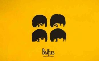 The Beatles - A Hard Day's Night - Vector Art