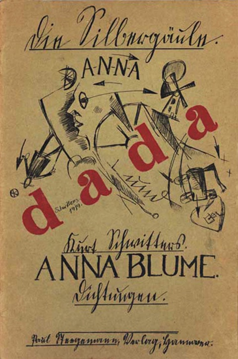 "Dada Manifesto by Hugo Ball 14th july 1916: 'Dada comes from the dictionary. it is terribly simple. In French it means ""hobby horse."" In German it means ""good-by,"" ""Get off my back,"" ""Be seeing you sometime."" In Romanian: ""Yes, indeed, you are right, that's it. But of course, yes, definitely, right."" And so forth'. -text at http://www.docstoc.com/docs/98555559/hugo-ball---dada-manifesto-july-1916"
