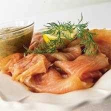 Gravad lax med hovmästarsås - Recept - Tasteline.com