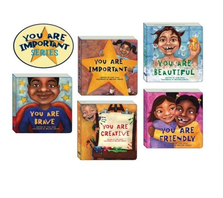 """Great self-esteem book for children """"You Are Brave"""" By Todd Snow. From the You Are Important Book Series."""