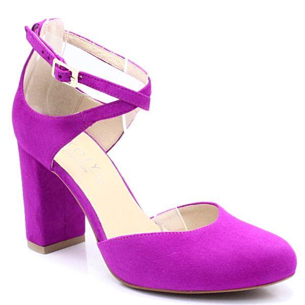 Kotyl 5913 Fuksja Czolenka Z Paskami Wygodne Buty Damskie Czolenka Pora Roku Damskie Wiosna Pora Roku Damskie Lato Pora Roku Heels Shoes Fashion
