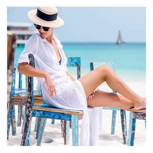 Beach Maxi Sundress From White Collection - Clothes