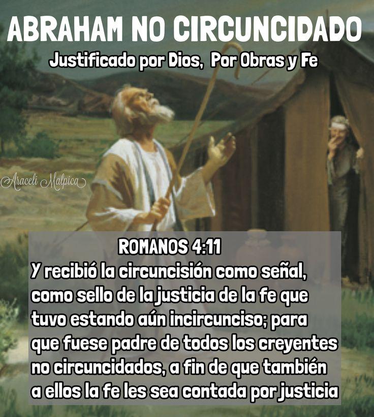 LA FE CONTADA POR JUSTICIA ASI COMO ABRAHAM ES EL PADRE DE LOS CREYENTES NO CIRCUNCIDADOS, SON JUSTIFICADOS POR SU FE. 🌿  1¿Qué, pues, dire...