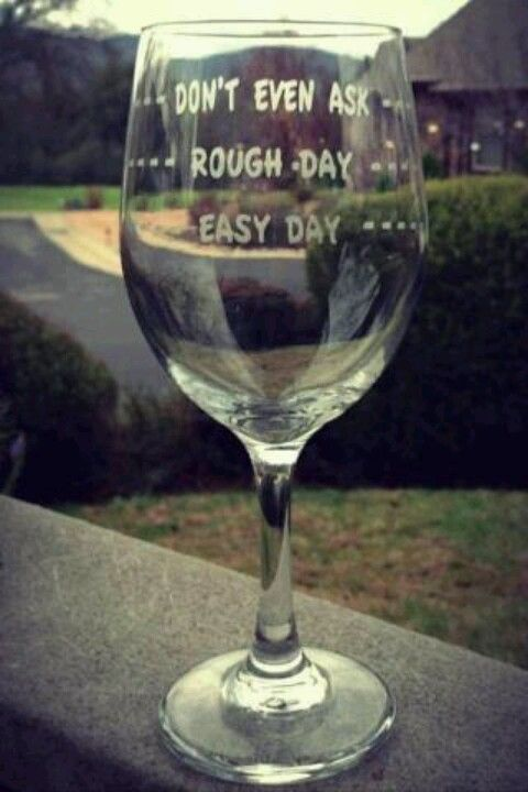 Wine glass, etched, gift idea