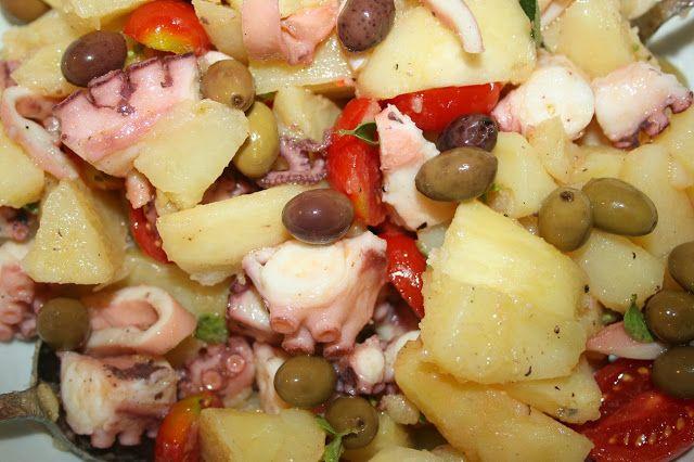 Bon appetit! ricette semplici... Polpo e patate