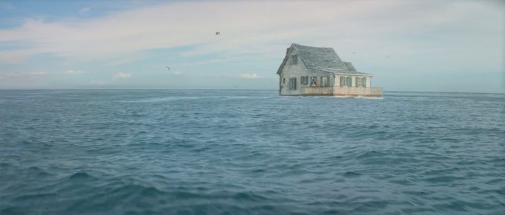 This Agency Sent a House to Sea for a Lovely Ad About the Choppy Waters of Life