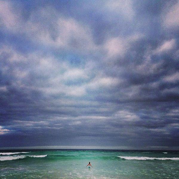 Santa Cruz Island, Galapagos | Swimming in solitude — Tortuga Bay | Photo: @Natalie Brewer