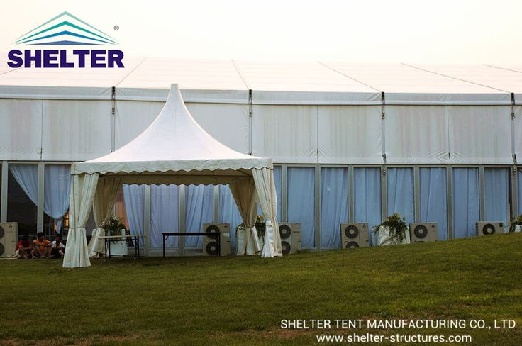 Pagoda Tent | Event Tent | Reception Tent | Temporary Structures | http://www.shelter-structures.com/