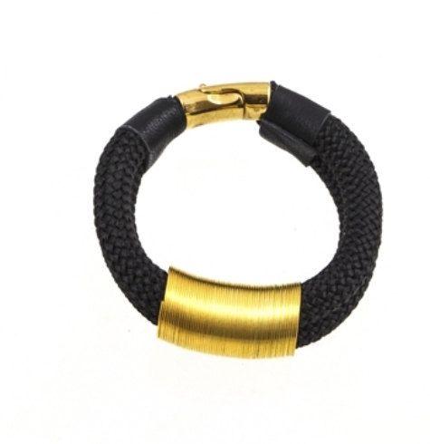 Rope Bracelet  Statement Jewelry Beautiful Black by EleannaKatsira, €39.00