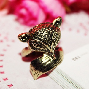 $3.41 Love   the ambience lovely enchanting little fox ring ring jewelry