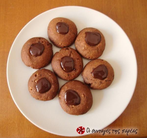 Νηστίσιμα μπισκότα σοκολάτας #sintagespareas
