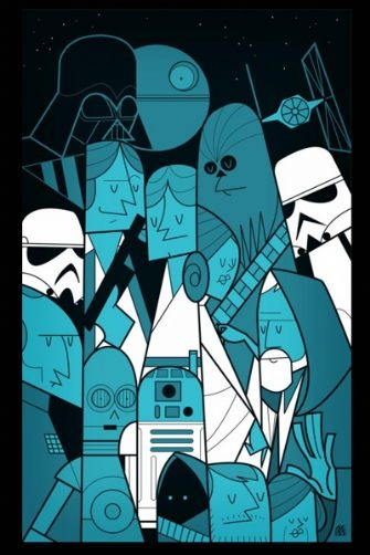 Star Wars Fine Art Print