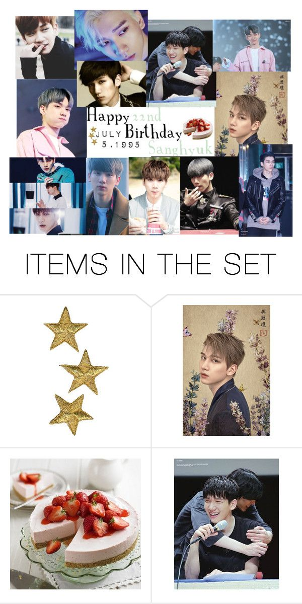 """Happy 22nd Birthday Hyuk"" by carrie-lynn ❤ liked on Polyvore featuring art"