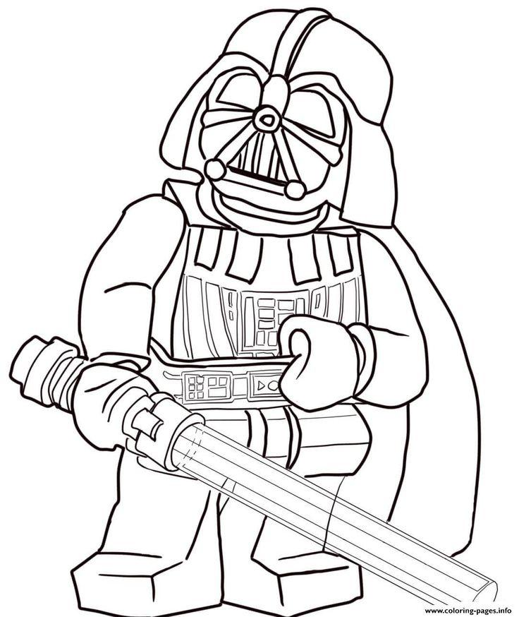 print lego star wars darth vader coloring pages