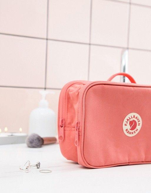 48a58e772e5 Fjallraven Kanken Peach Pink Toiletry Bag in 2019