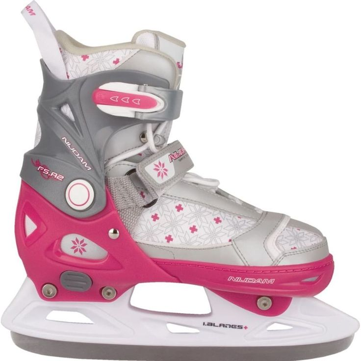 Figure Skating Shoes Sport Activity White Pink Girls Figure Skates Size 37-40 #FigureSkatingShoes