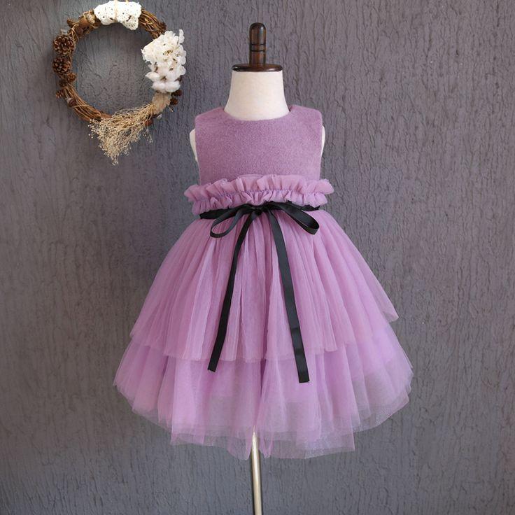 Купить товарJACOBS Ватные шить рукавом Туту Платье Принцессы с 2016 новых осенью и зимой все матч маленькие дети в категории Платьяна AliExpress.
