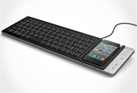 KEYS IPHONE KEYBOARD DOCK - Gadgets Magazine