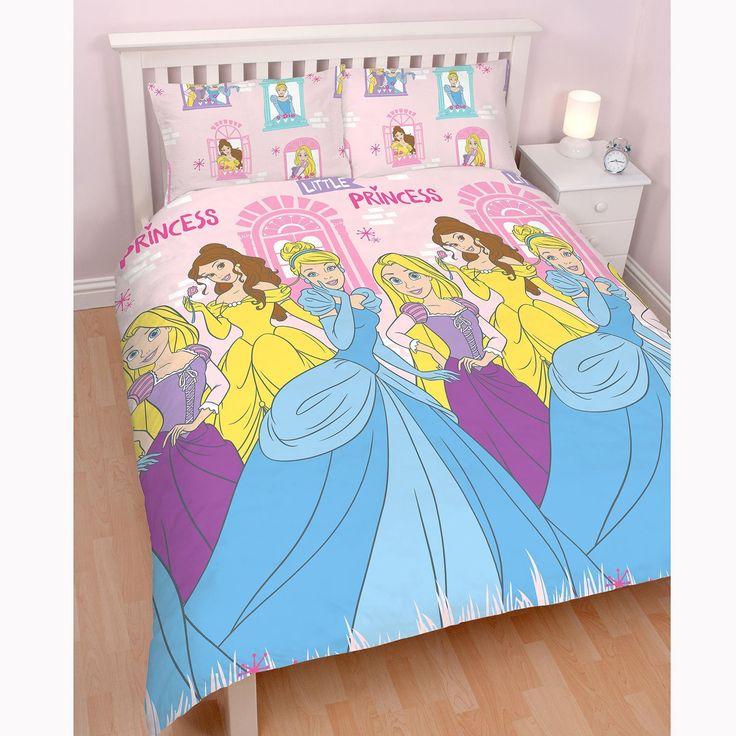 Disney Princess Boulevard Double Size Quilt Cover Set. Available at Kids Mega Mart online shop Australia www.kidsmegamart.com.au