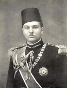 King Farouk.