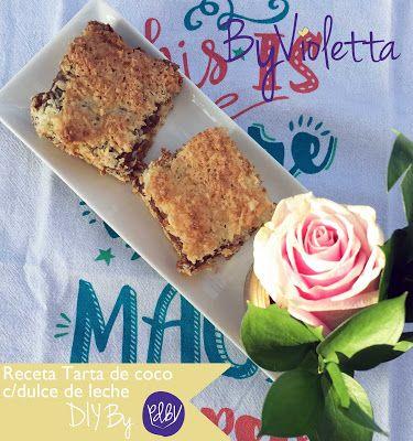 PDBV: DIY Tarta de Coco rellena con dulce de leche // DI...