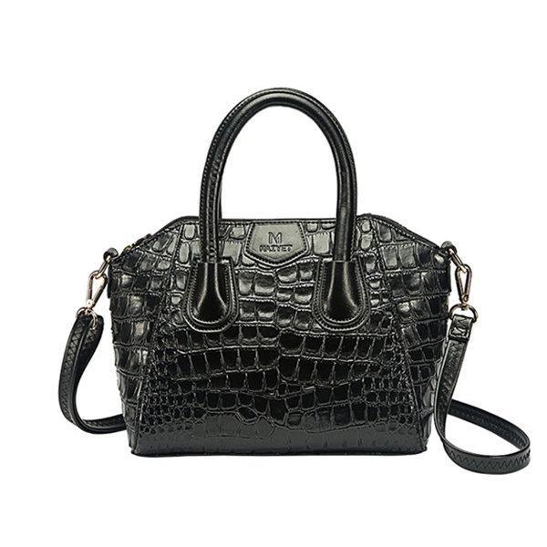 6d5516cae1b2 Women Stylish Shoulder Bags Crossbody Bags Alligator Pattern Shell Handbags
