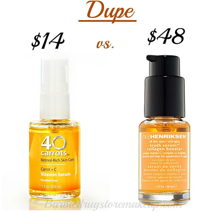 Skincare Dupe40 Carrots Serum Find Here 40 Carrots Serum Give You The Same Result As Ole Henriksen S Truth Serum Skin Care Organic Skin Care Skin Care Serum