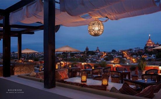 Luna Rooftoop Tapas Bar have the best view of San Miguel de Allende