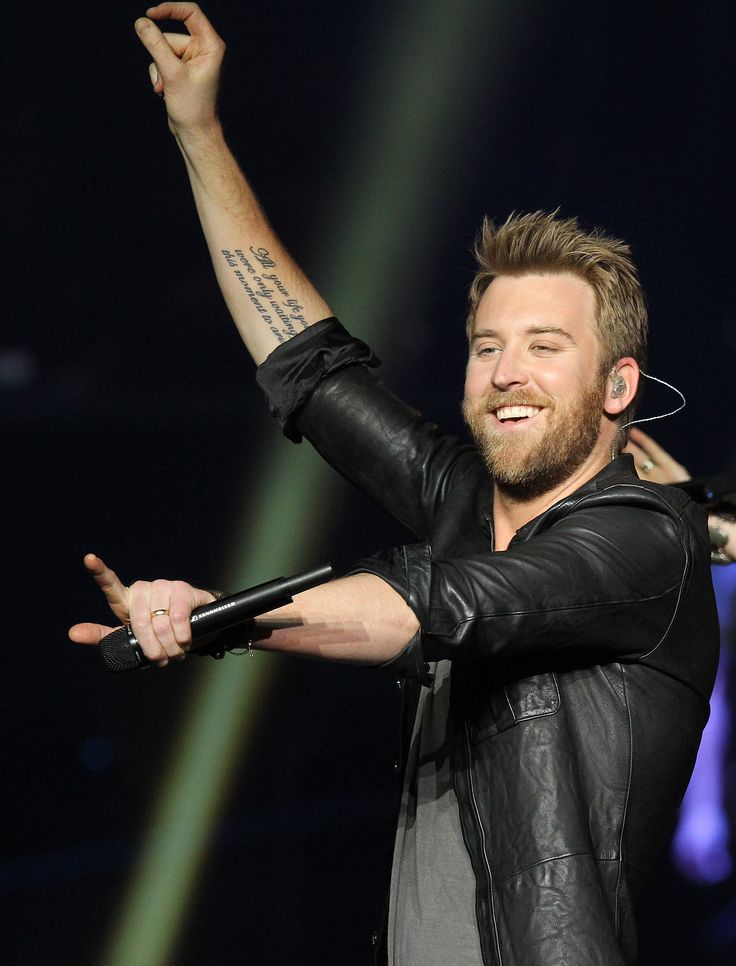 Charles Kelley of Lady Antebellum. He has an amazing voice!!