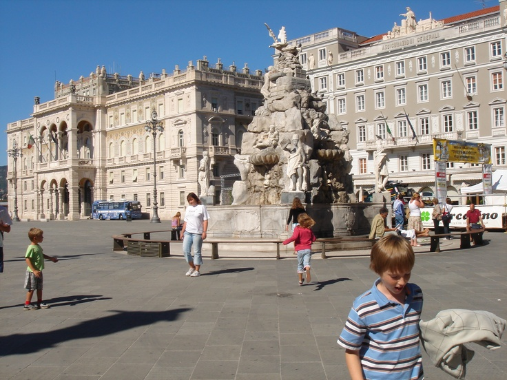 Piazza Unita, Trieste, Italy***