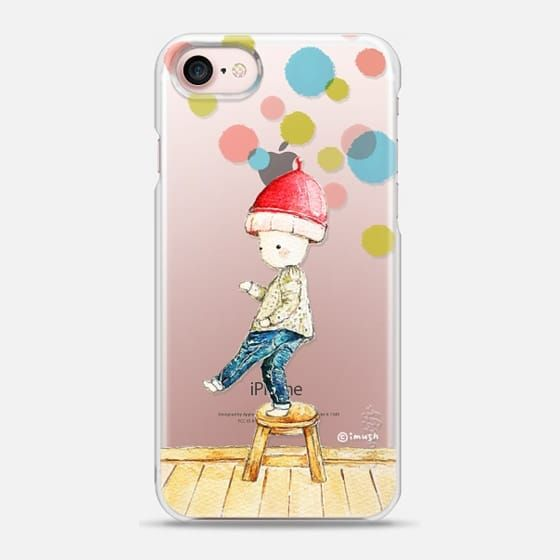 Watercolor be patient by imushstore - Snap Case