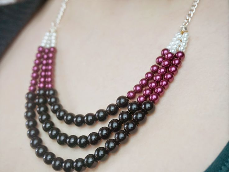 319 best jewlery tutorials images on pinterest jewelry ideas thediydiary do it yourself statement necklace solutioingenieria Images