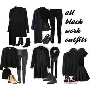 All-Black Outfits for Work - Bing images