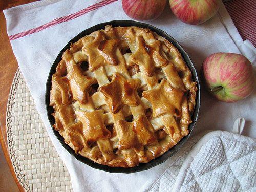 Tarte de maçã americana