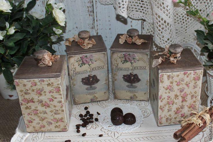 Купить Баночки для чая,кофе,специй,сладостей... - разноцветный, баночки для специй, баночка для чая