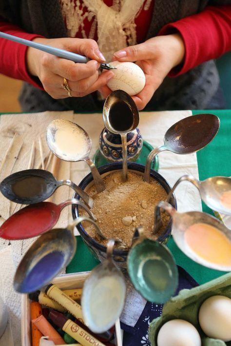 Sorbians Prepare Easter Eggs More