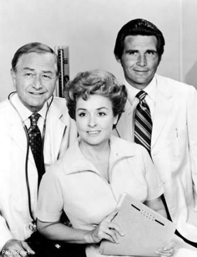 Robert Young, Elena Verdugo and James Brolin in Marcus Welby M.D.  This is where I first heard my son's name, Trent.  I was 11-12 yrs old, and swore if I ever had a little boy someday that's what I would name him.