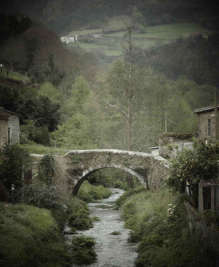Ponte do Pasatiempo. Mondoñedo. (Lugo). Galicia. Spain.