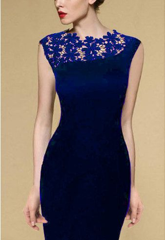 Women Stretch Evening Party Casual Lace Slim Bodycon by BalFashion