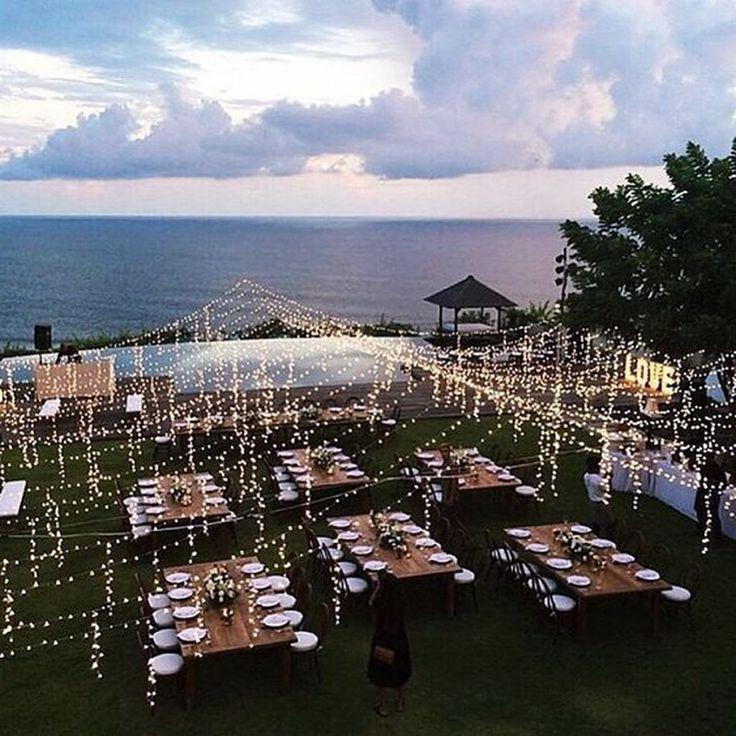 37 Atemberaubende Hochzeitsdekoration Inspiration für eine Party im Freien – Homishome