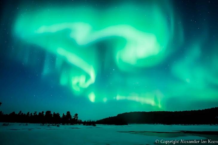 Northern Lights - Inari,Lapland, Finland.