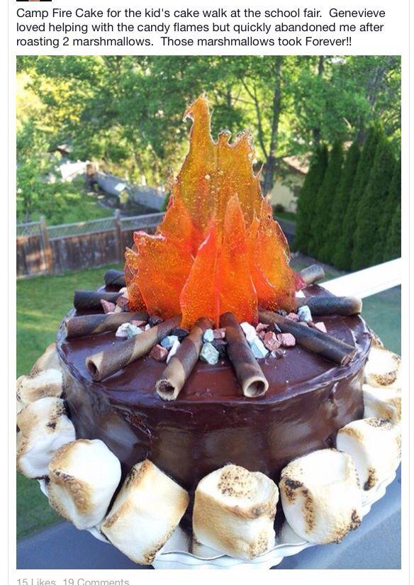 Campfire cake                                                                                                                                                                                 More
